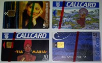 Mint vs used Callcards