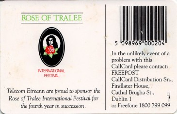 Rose of Tralee '95 Back