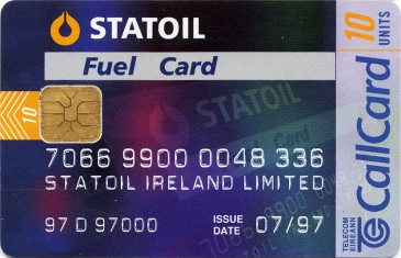 Statoil Fuel Card Front
