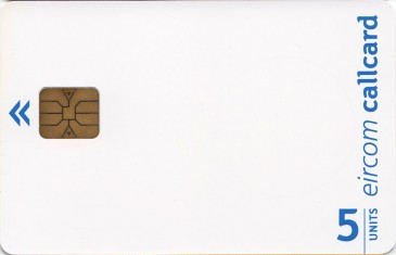 Eircom Blank Promotion Card