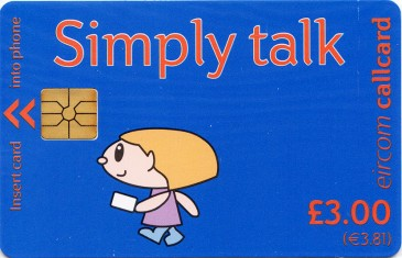 Simply Talk £3 Gemplus Front
