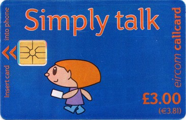 Simply Talk £3 Gemplus OP Literature Front