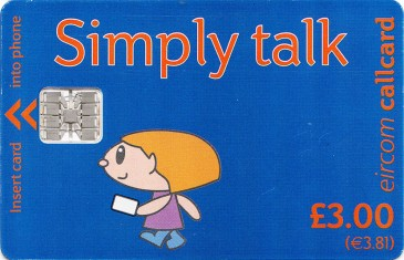 Simply Talk £3 Sclumberger OP Literature Front