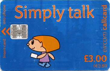 Simply Talk £3 Sclumberger OP Use Us Today Front