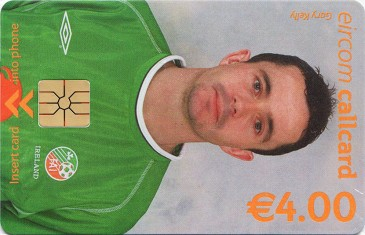 Gary Kelly - World Cup 2002 Front