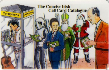 UCD Concise Ireland Callcard Catalogue