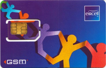 Eircell People Chain GSM SIM Card