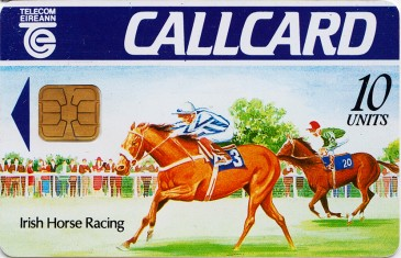 Irish Horse Racing Test card (McCorquodale)