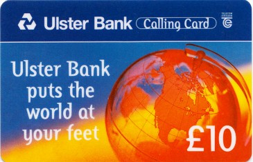 Ulster Bank Calling Card
