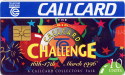 """Big Challenge"" Callcard Fair '96 (Special)"