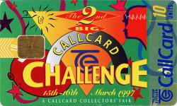 """Big Challenge"" Callcard Fair '97 Charity"