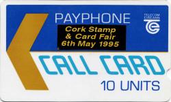 Cork Stamp & Card Fair 6th May 1995