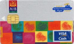Ennis Information Age Town AIB Visa Cash card
