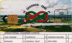 Shannon Erne  Waterway Services Card 10 units
