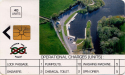 Shannon Erne Waterway Services Card 40 units