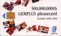 Gemplus 500 Million Promotional Card