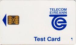 Telecom Eireann Test Card