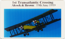 Alcock & Brown dummy card 1