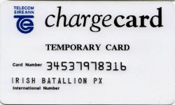 Telecom Eireann Temporary Army Chargecard