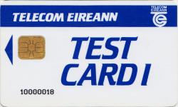 Telecom Eireann Test Card 1 (McCorquodale)