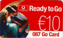 Vodafone Ready to Go Go Card
