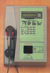 Callcard Cardphone by Schlumberger